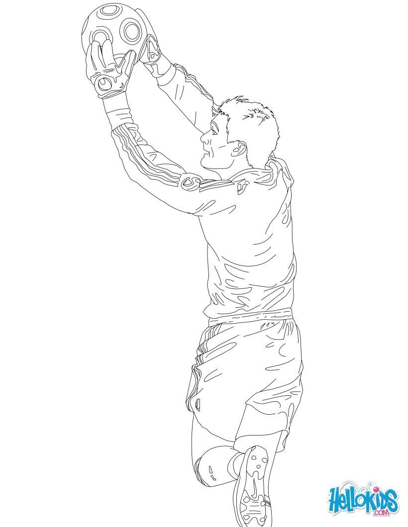 Desenhos De Jogadores De Futebol Para Colorir Desenhos