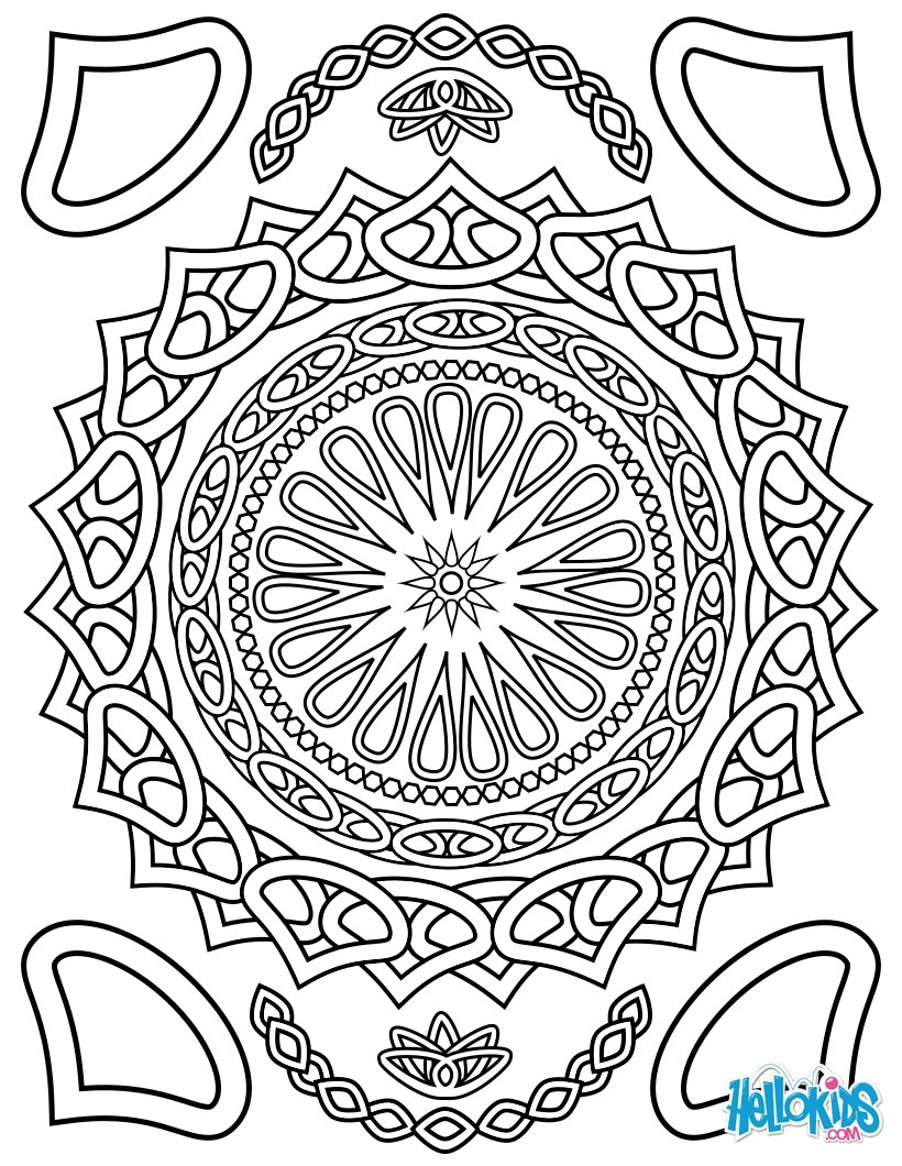 Desenhos Para Colorir De Colorir Para Adultos Pt Hellokids Com