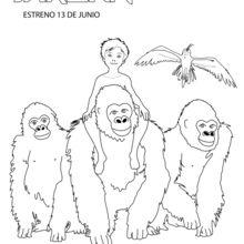 Menino Tarzan com a família deles