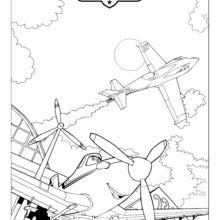 Dusty, Aviões