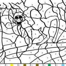 Colorindo o macaco pelos números