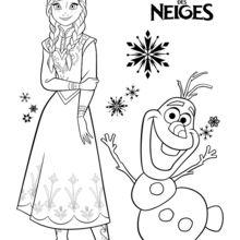Anna e Olaf - Frozen