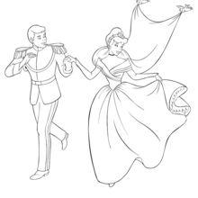 Cinderela e seu príncipe