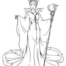 Impressão Maleficent