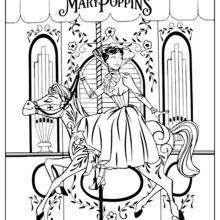 Mary Poppins impressão