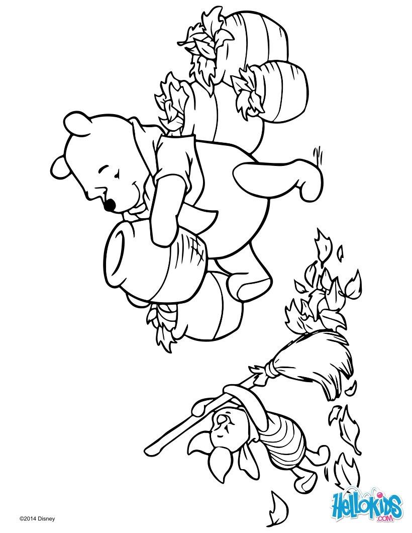 Desenhos Para Colorir De Ursinho Pooh E Leitao Pt Hellokids Com