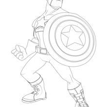 Capitão América Os Vingadores
