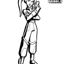 Desenhos Para Colorir De Star Wars Rebels Hera Pt Hellokids Com