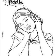 Violetta ouvir música