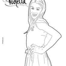 poses Violett