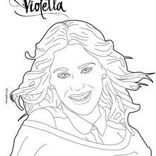 Violetta é uma sessão de fotos