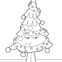 Árvore de Natal infeliz