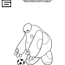Baymax Soccer