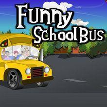 Ônibus escolar Divertido