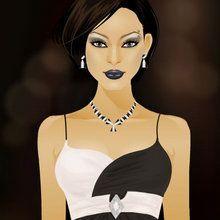 A Glamurosa Gal Gina : Preto & Branco