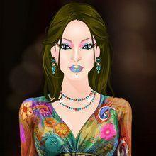 A Glamurosa Gal Gina : Bohemia e chique
