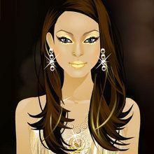A Glamurosa Gal Gina : Glitters dourados