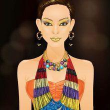 A Glamurosa Gal Gina : A moda Tribal