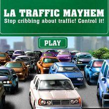 O caos no trânsito de LA