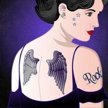 Senhorita Tatuagem