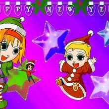 Papél de parede: feliz ano novo