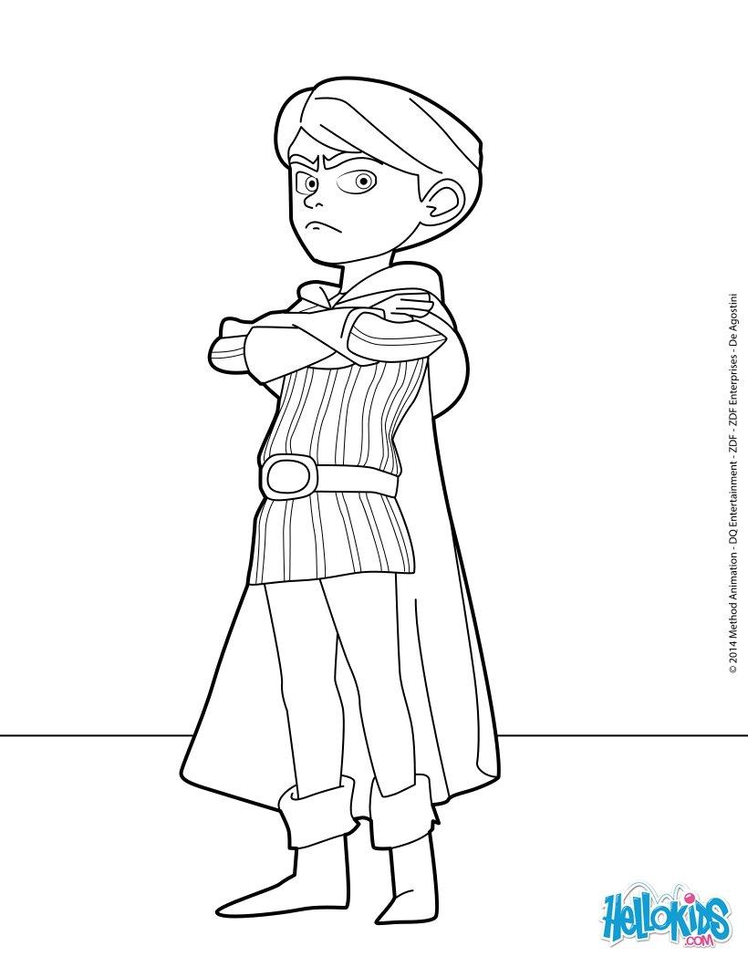 Desenhos Para Colorir De Principe Juan Pt Hellokids Com