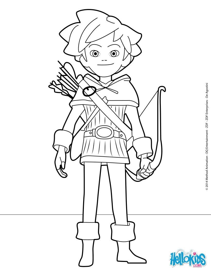 desenhos para colorir de robin hood