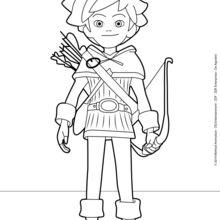 robin hood desenhos para colorir imprima desenhos para colorir