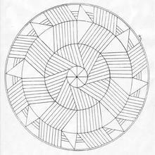 Mandala como um moinho