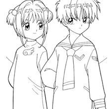 Sakura e o seu seu rival, Shaoran Li
