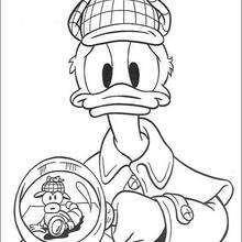 Pato Donald, o detetive privado