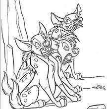 Shenzi, Banzai e Ed, o trio das hienas