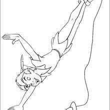Peter Pan voando