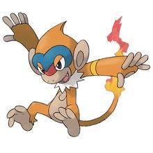 Desenho do pokémon Monferno para colorir