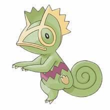 Desenho do Pokémon Kecleon