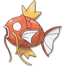 Desenho do Pokémon Magikarp para colorir