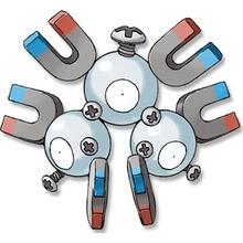 Desenho do pokémon Magneton para colorir