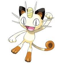 Desenho do pokémon Meowth para colorir