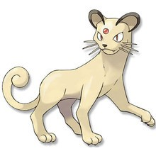 Desenho do pokémon Persian para colorir