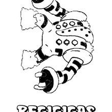 Desenho do pokémon Regigigas para colorir