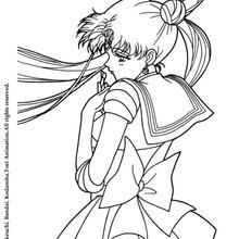 Sailor Moon triste