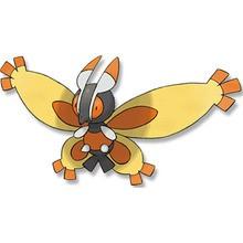 Desenho do pokémon Mothim para colorir