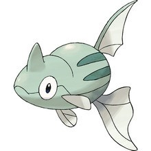 Desenho do Pokémon remoraid para colorir