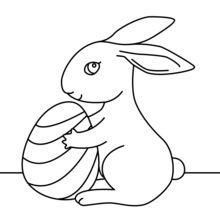 Coelhinho da Páscoa bonito