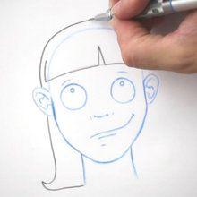 Desenhe um penteado: A franja