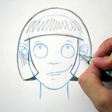 Desenhe um penteado: Bob cut