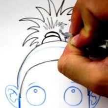 Desenhe um penteado: Rabo de cavalo