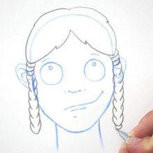 Desenhe um penteado: tranças