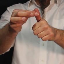 O polegar jogador