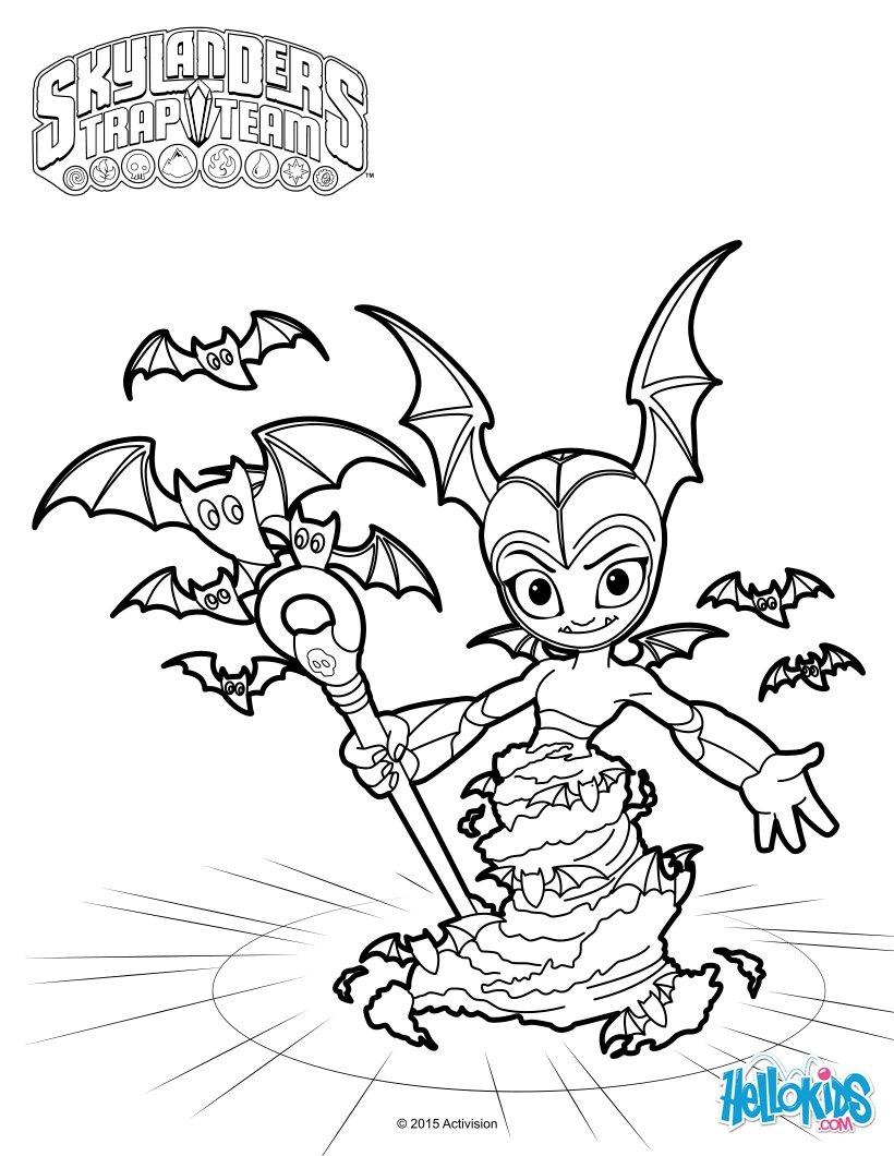Skylanders : Desenhos para colorir, Jogos gratuitos para crianças ...